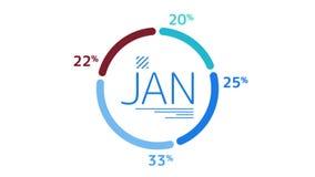Elemento de Infographic - carta del buñuelo