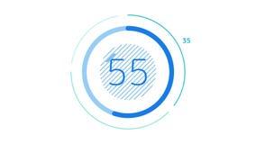 Elemento de Infographic - carta del círculo