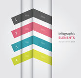 Elemento de Infographic con opciones Imagenes de archivo