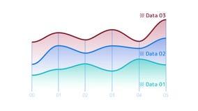 Elemento de Infographic - línea carta