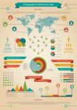 Elemento de Infographic. População. Fotos de Stock Royalty Free