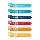 Elemento de Infographics Fotografía de archivo libre de regalías