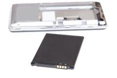 Elemento de la batería del acumulador del teléfono móvil de Smartphone Imagen de archivo