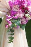 Elemento de la composición del arco de la boda, primer Fotos de archivo