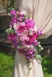 Elemento de la composición del arco de la boda Foto de archivo libre de regalías