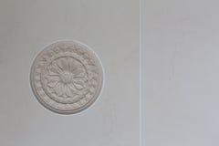 Elemento de la decoración del yeso Imagen de archivo libre de regalías