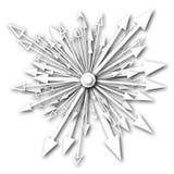 Elemento de la flecha Imagen de archivo