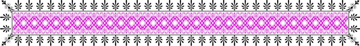 Elemento de la frontera del vector Foto de archivo