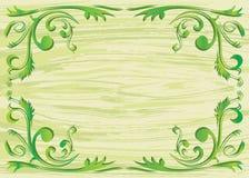 Elemento de la planta y fondo de la textura Imagen de archivo