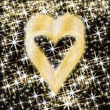 Elemento de los corazones del póker, bandera del casino, vector Imagen de archivo libre de regalías