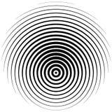 Elemento de semitono Gráfico geométrico abstracto con el patt del tono medio libre illustration