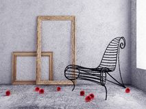 Elemento de um interior de um quarto Imagem de Stock Royalty Free