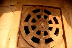 Elemento de uma estrutura decorativa Fotografia de Stock