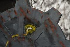 Elemento de un reactor de la radiación en un juego de ordenador imagenes de archivo