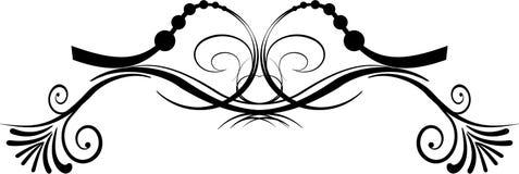 Elemento decorativo Imagen de archivo libre de regalías
