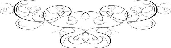 Elemento decorativo ilustración del vector