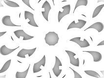 Elemento decorativo del diseño Foto de archivo libre de regalías