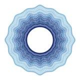 Elemento decorativo del guilloquis Imagenes de archivo