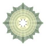 Elemento decorativo del guilloquis Imágenes de archivo libres de regalías