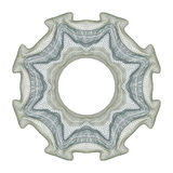 Elemento decorativo del guilloquis Fotografía de archivo libre de regalías