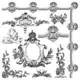 Elemento decorativo do projeto de Lviv histórico Imagens de Stock Royalty Free