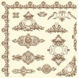 Elemento decorativo do projeto de Lviv histórico Fotos de Stock