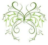 Elemento decorativo floral para el diseño Imagen de archivo