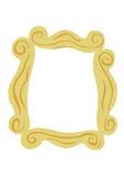 Elemento decorativo ilustrado do projeto do quadro ilustração royalty free