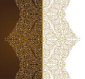 Elemento decorativo ornamental del vector Imágenes de archivo libres de regalías