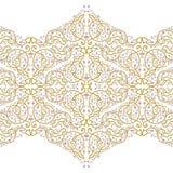 Elemento decorativo ornamental del vector Imagen de archivo libre de regalías