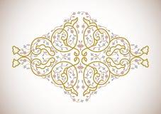 Elemento decorativo ornamental del vector Imagenes de archivo
