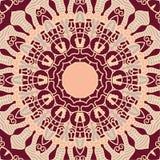 Elemento decorativo redondo del diseño del vector Imagen de archivo libre de regalías