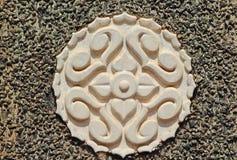 Elemento decorativo tradicional en la India del sur Imagen de archivo libre de regalías