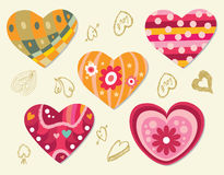 Elemento del amor Imágenes de archivo libres de regalías