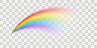 Elemento del arco iris del vector stock de ilustración