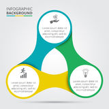 Elemento del cerchio di vettore per infographic Fotografia Stock