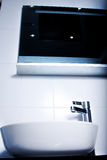 Elemento del cuarto de baño moderno Fotos de archivo