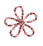 Elemento del diseño de la flor Foto de archivo libre de regalías