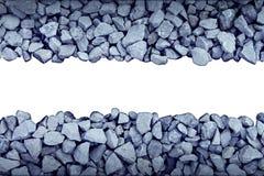 Elemento del diseño de la frontera de la roca Fotos de archivo