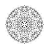 Elemento del diseño de la mandala libre illustration