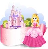 Elemento del diseño de la princesa libre illustration