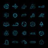 Elemento del diseño de la tecnología Foto de archivo libre de regalías