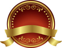 Elemento del diseño de Lable Imágenes de archivo libres de regalías