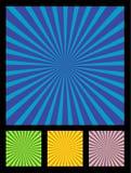 Elemento del diseño de los rayos de Sun Fotografía de archivo libre de regalías
