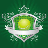 elemento del diseño del deporte del tenis Foto de archivo libre de regalías