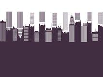 Elemento del diseño del tema de la ciudad Foto de archivo libre de regalías