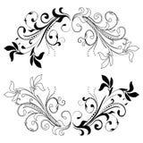 Elemento del diseño en un fondo blanco Imágenes de archivo libres de regalías