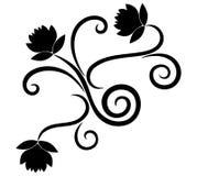 Elemento del diseño floral libre illustration