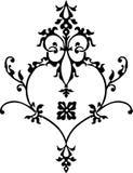 Elemento del diseño floral Fotografía de archivo libre de regalías