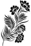Elemento del diseño floral Fotos de archivo libres de regalías